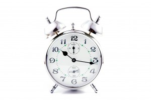 Busyness and time alarm clock