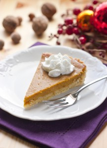Thanksgiving and pumpkin pie