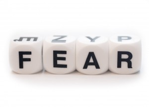 Fear spelled out