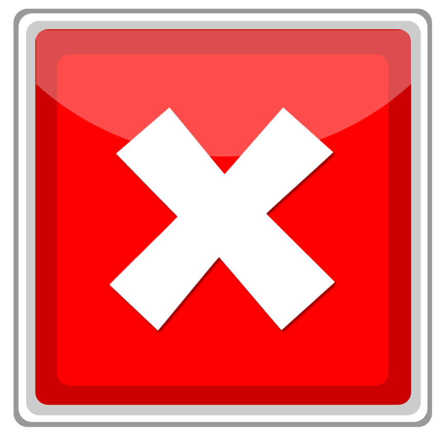 Red Tick Box : Imperfect spirituality red check for environment decor