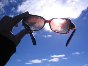 Awareness and rose colored glasses