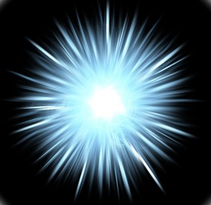 Energy you bring -- ball of light