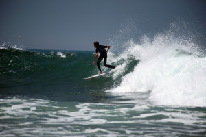 Balance in surfing