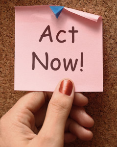 Act Now Message To Inspire And Motivate
