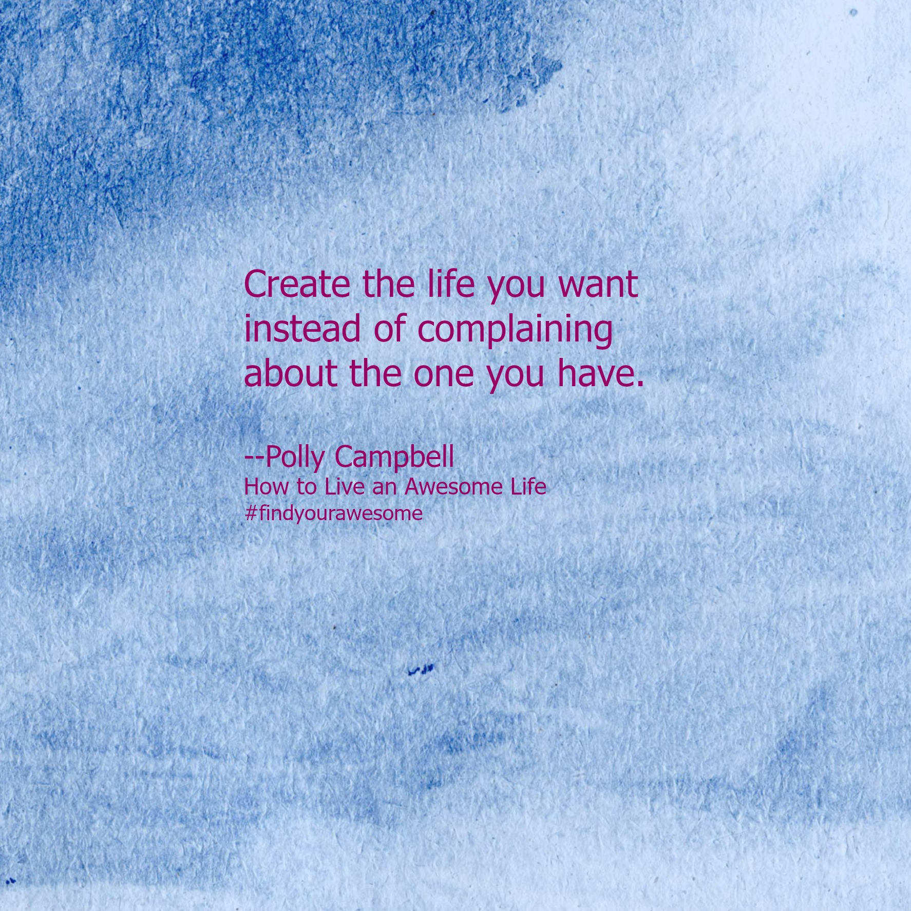 Creat your life
